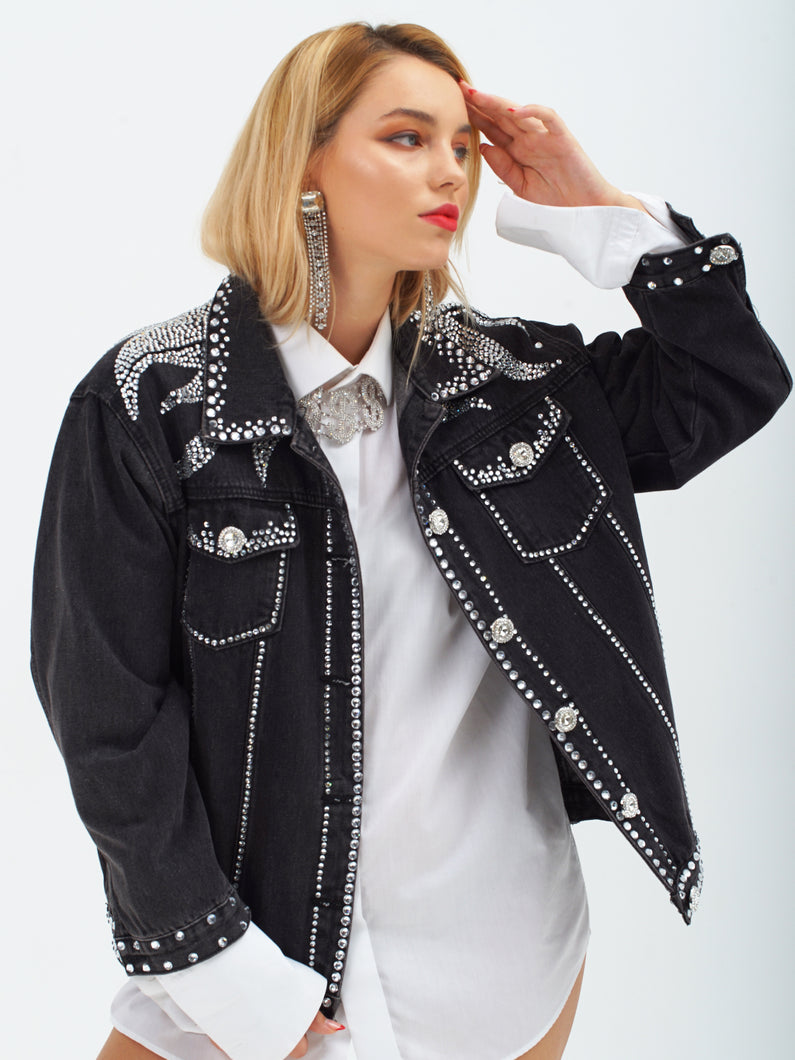 Castle Rock Denim Jacket by Morphine Fashion