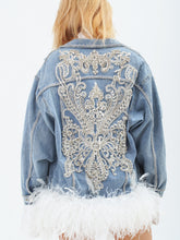 Load image into Gallery viewer, Hollywood Couture Denim Jacket by Morphine Fashion