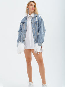 Hollywood Couture Denim Jacket by Morphine Fashion