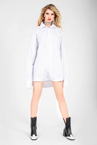 Stefani Oversized Cotton Shirt