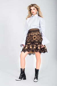 Grace Trapeze Skirt