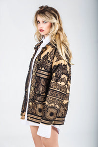 Grace Oversized Lace Jacket