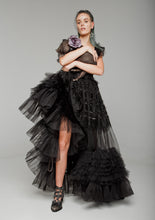 Load image into Gallery viewer, Black Princess Dress by Morphine Fashion