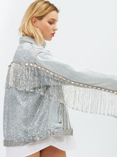 Load image into Gallery viewer, Harper Denim Jacket by Morphine Fashion