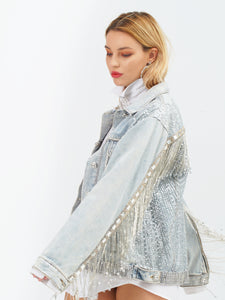 Harper Denim Jacket by Morphine Fashion