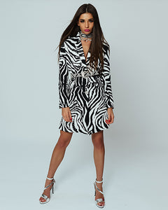 Wild Classic Jacket Dress by Morphine Fashion