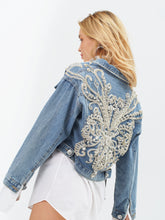 Load image into Gallery viewer, Alexandria Denim Couture Jacket by Morphine Fashion