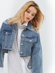 Alexandria Denim Couture Jacket by Morphine Fashion