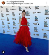 Load image into Gallery viewer, Chic Spanish Tulle Dress on Independent FIlm Festival