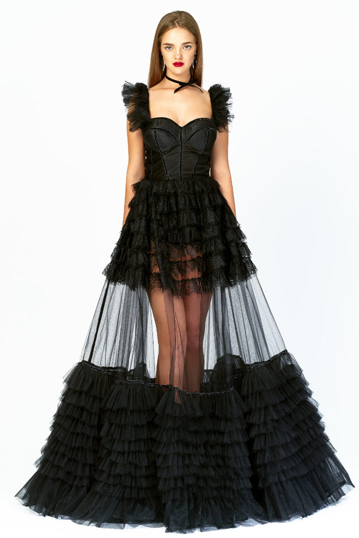 Black Princess Dress by Morphine Fashion