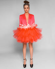 Load image into Gallery viewer, Coral satin dress from Morphine Fashion
