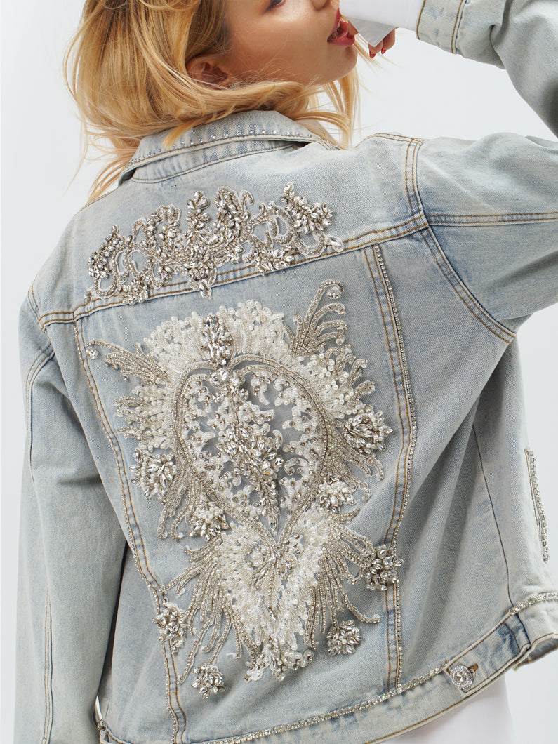 Lafayette Denim Couture Jacket by Morphine Fashion