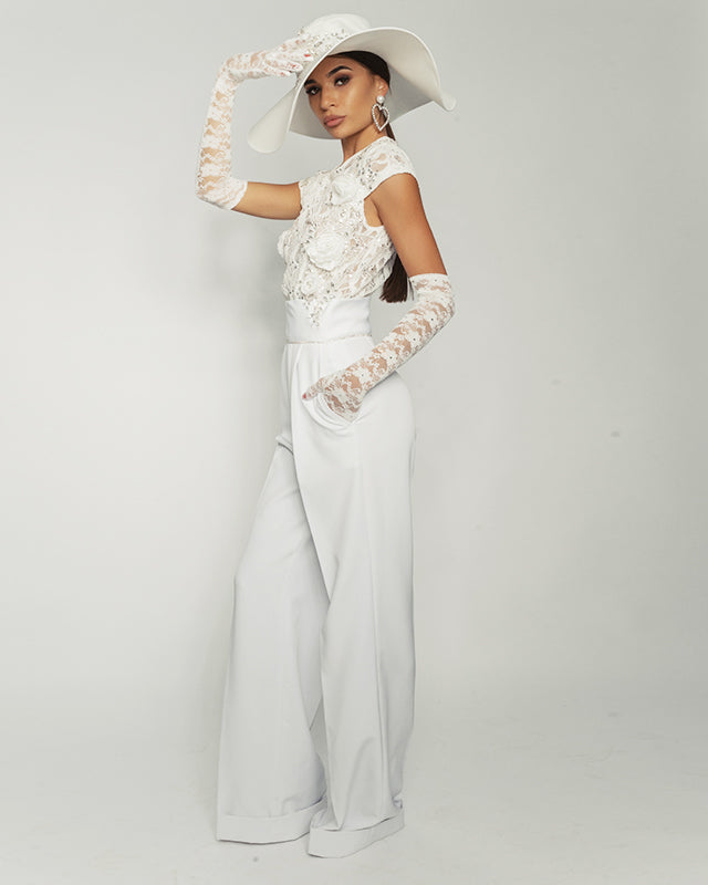 Bridal Jumpsuit by Morphine Fashion