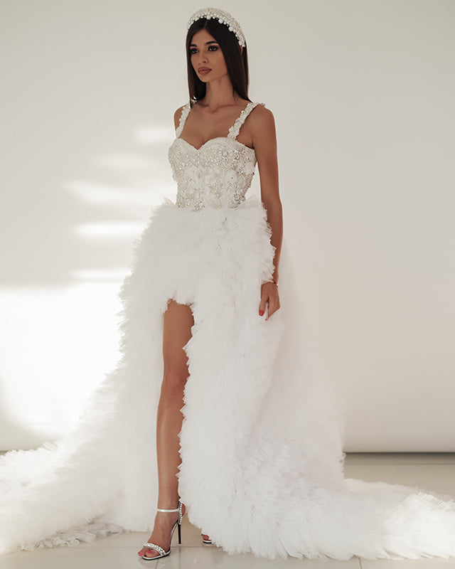 Swan Wedding Dress by Morphine Fashion