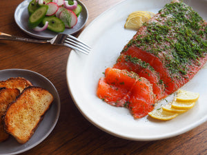 Easy-to-make Steelhead Trout Gravlax
