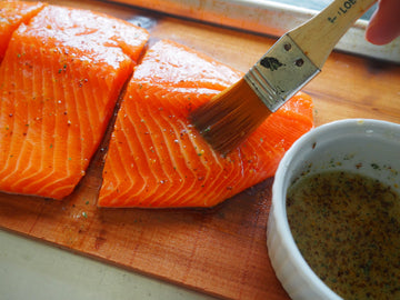 Cedar Grilled Maple Steelhead Trout