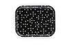 Bandeja Classic Trays 460x355x20mm DOT PATTERN REVERSE dark/black