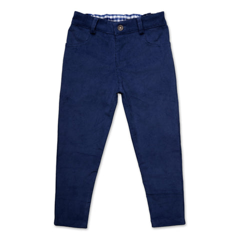 CORDUROY PANTS IN NAVY