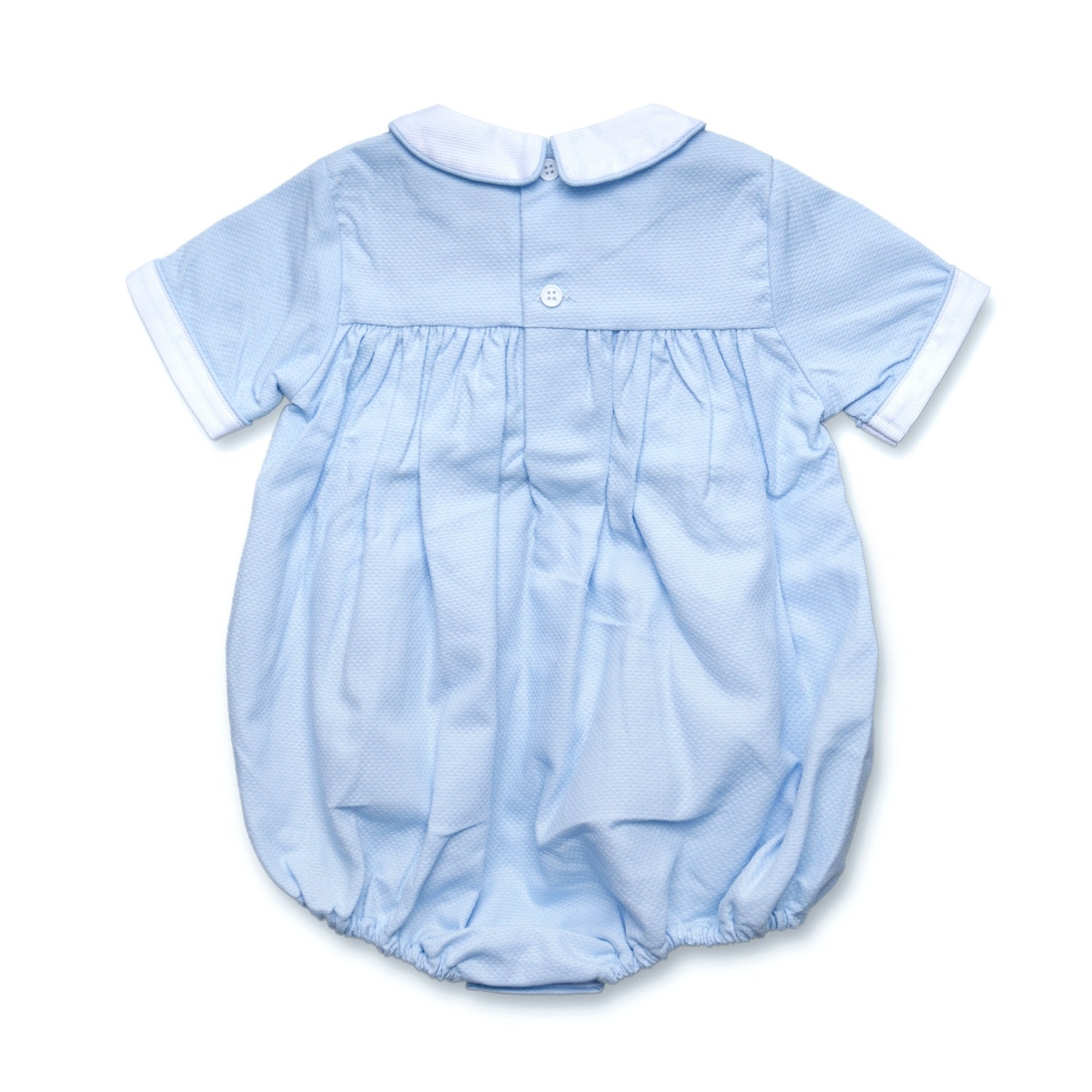 TILLY BLUE DUCK ROMPER