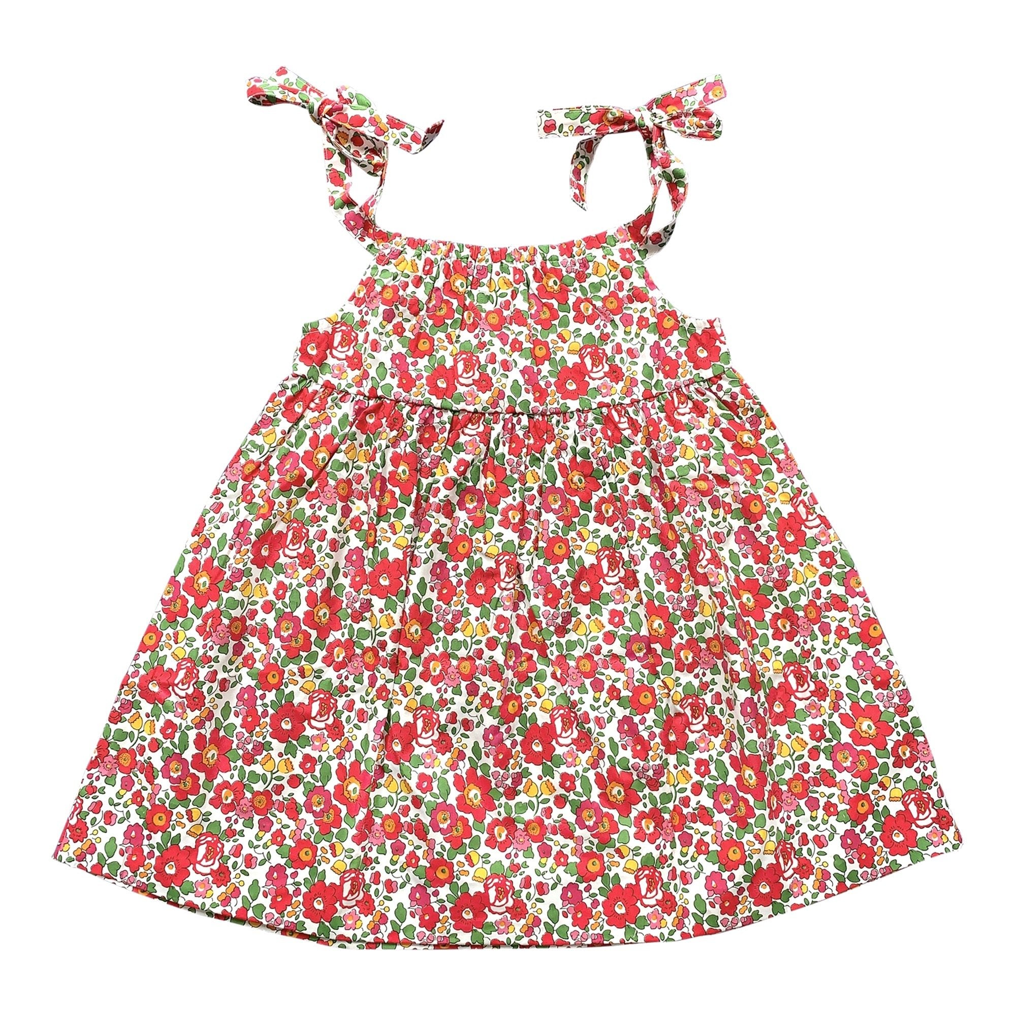 FLORRIE BLOOMERS IN RED LIBERTY PRINT