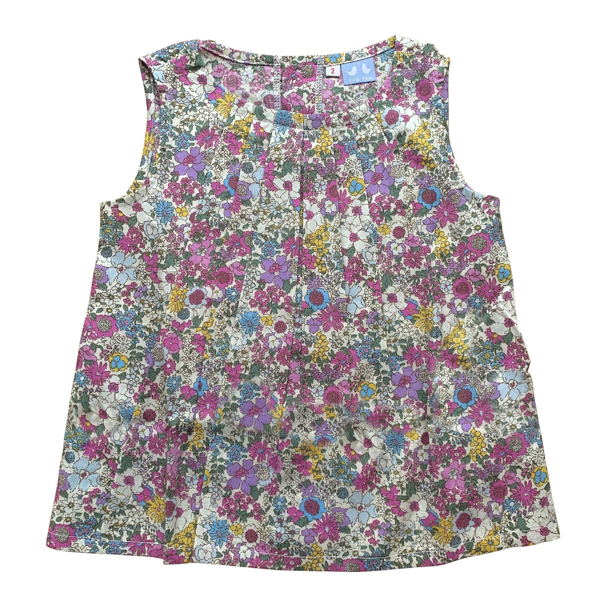 FLORRIE BLOOMERS IN PURPLE LIBERTY PRINT