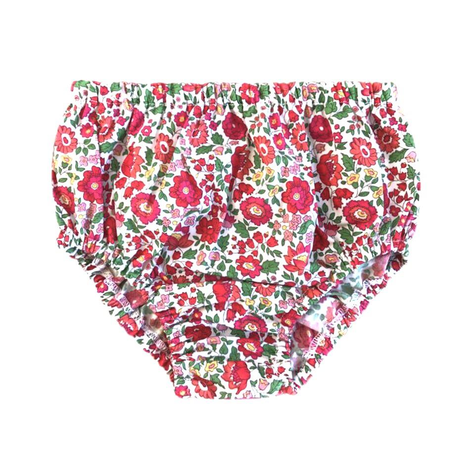 FLORRIE BLOOMER IN RED LIBERTY PRINT