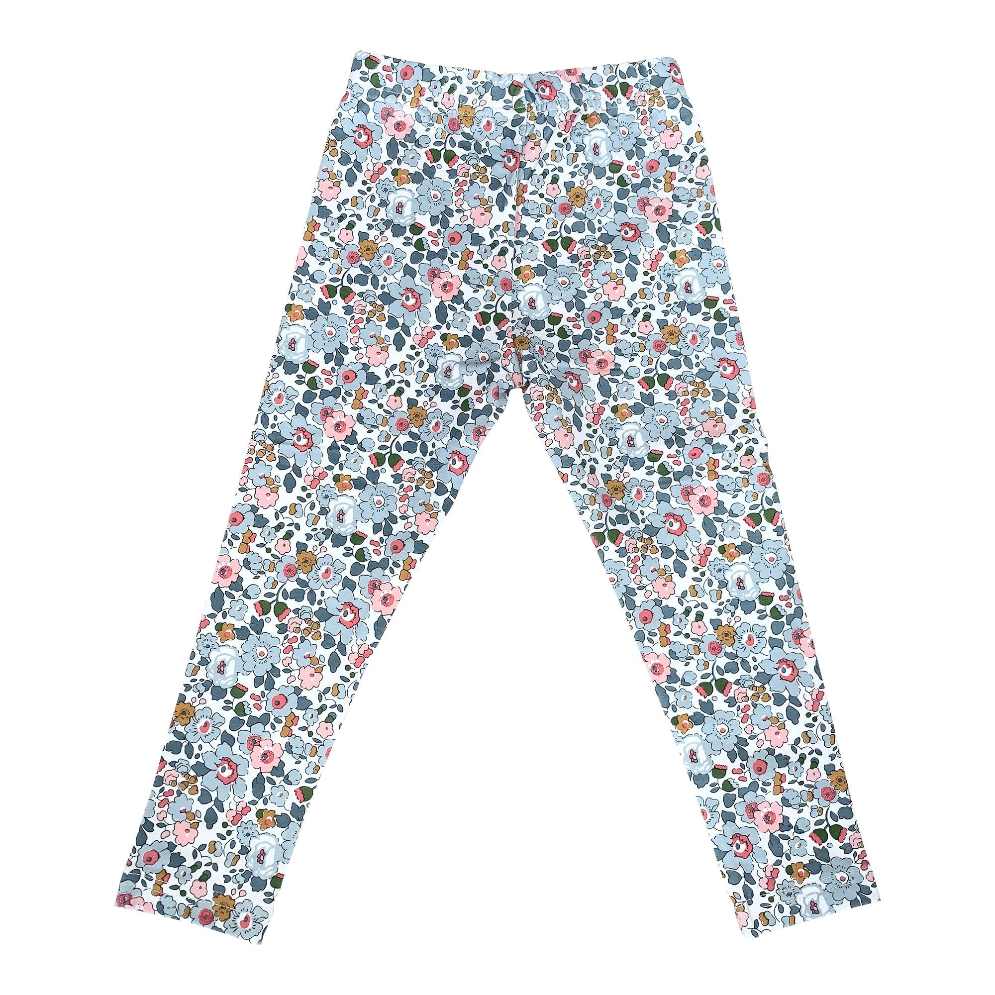 BESSIE PALE BLUE LIBERTY PRINT LEGGINGS