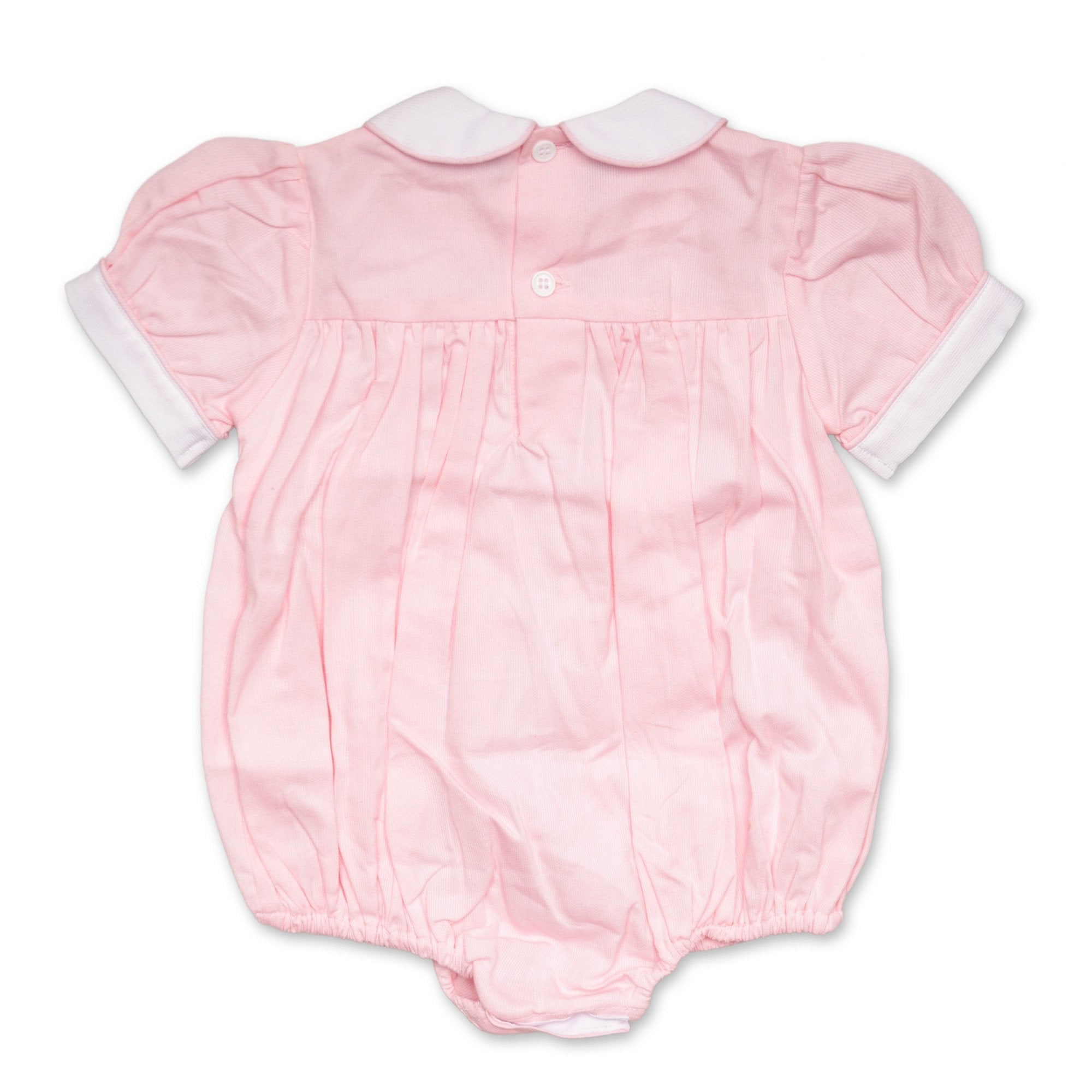 TILLY PINK DUCK ROMPER
