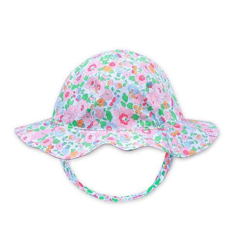 FLORRIE HAT IN LIBERTY PRINT