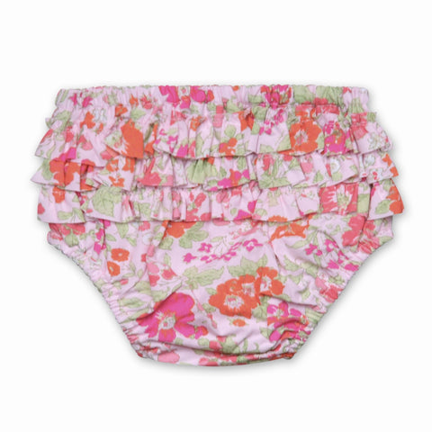 FLORRIE BLOOMERS IN ORANGE AND PINK FLORAL