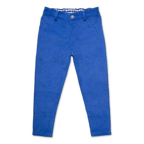 CORDUROY PANTS IN ROYAL BLUE