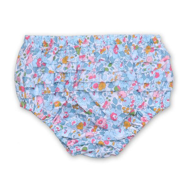 FLORRIE BLOOMERS IN PALE BLUE LIBERTY PRINT