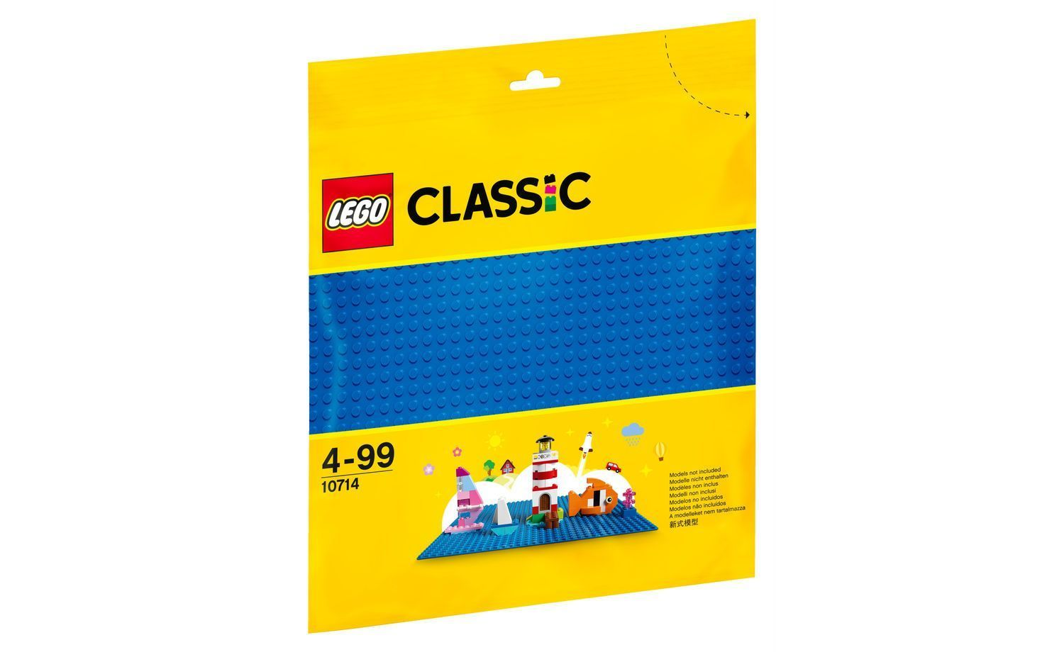 Lego Classic - Blue Baseplate Small