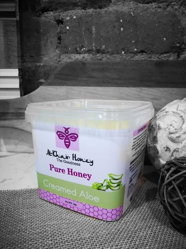 Al Khair Honey - Creamed Aloe (1kg Tub)