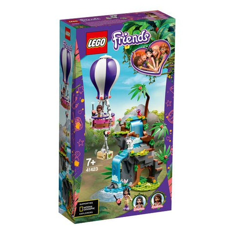 Lego Friends - Tiger Hot Air Balloon Jungle Rescue