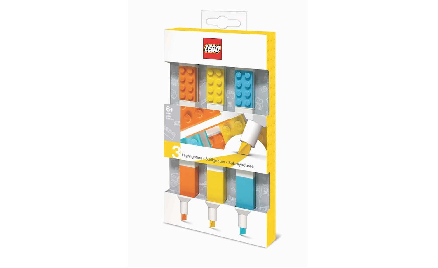 Lego Stationery - Highlighter (3 pack)
