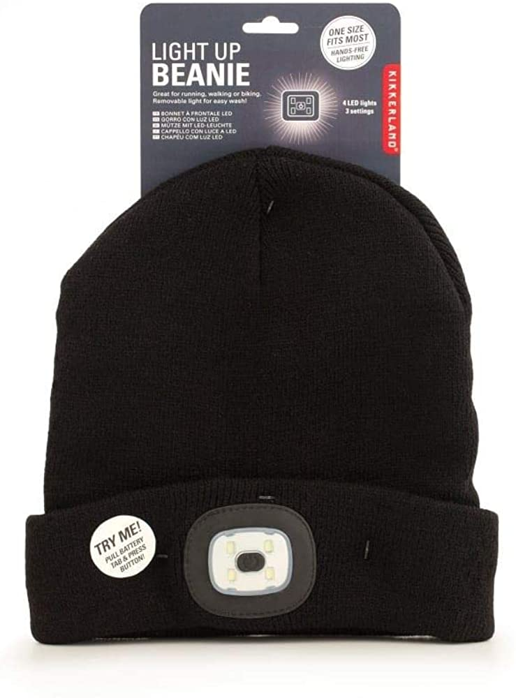 Kikkerland - Light Up Beanie