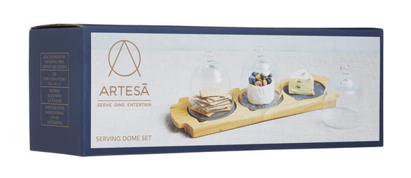 Artesa Appetiser  3 Dome serving set