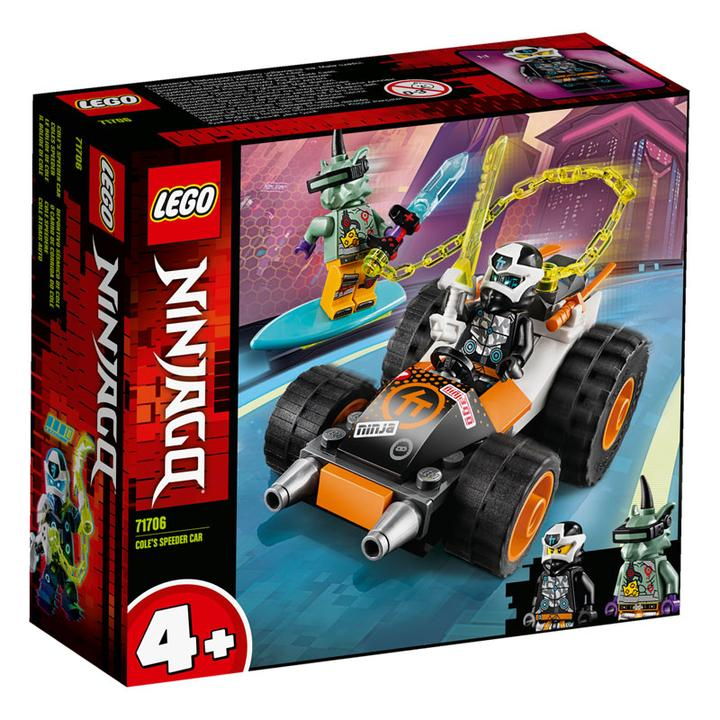 Lego Ninjago - Cole's Speeder Car