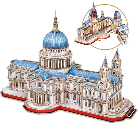 3D Puzzle - St. Paul's Cathedral (UK) (643pcs)