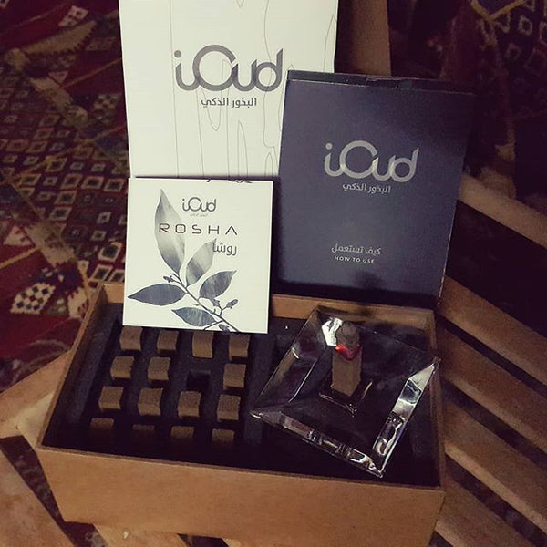 iOUD - Rosha 16 With Glass Base