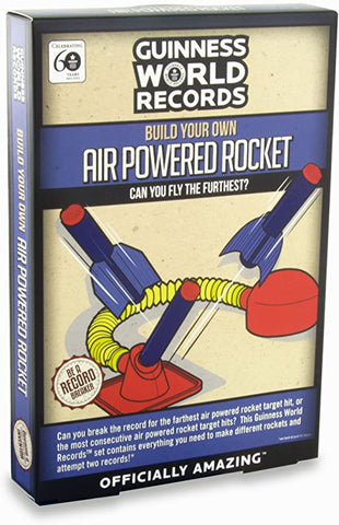 Guinness World Records - Build Your Own Air Powered Rocket