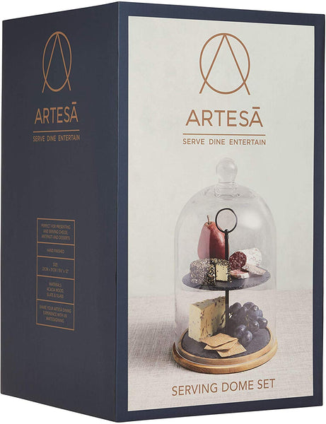 Artesa Appetiser Two Tier Serving Dome