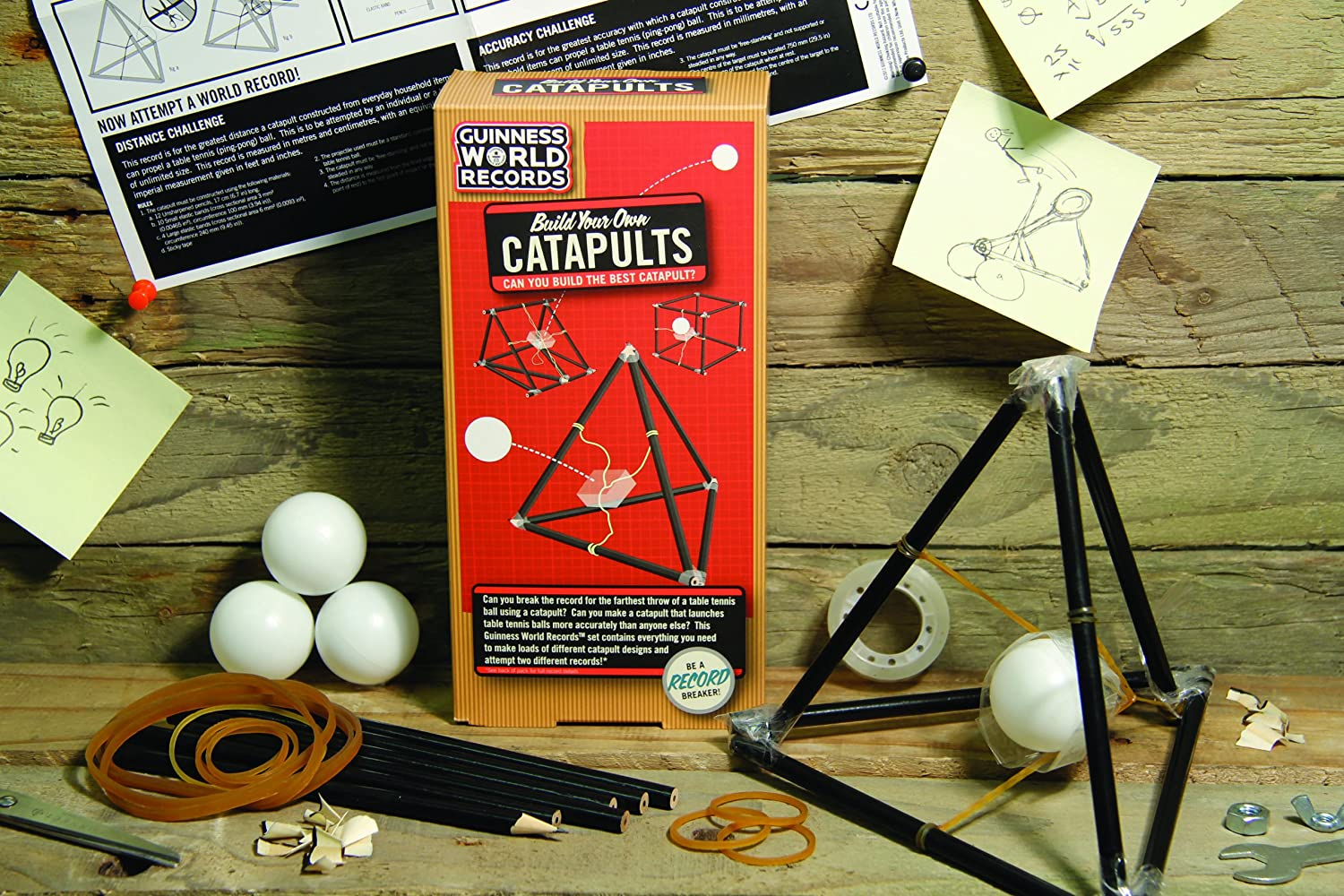 Guinness World Records - Build Your Own Catapults