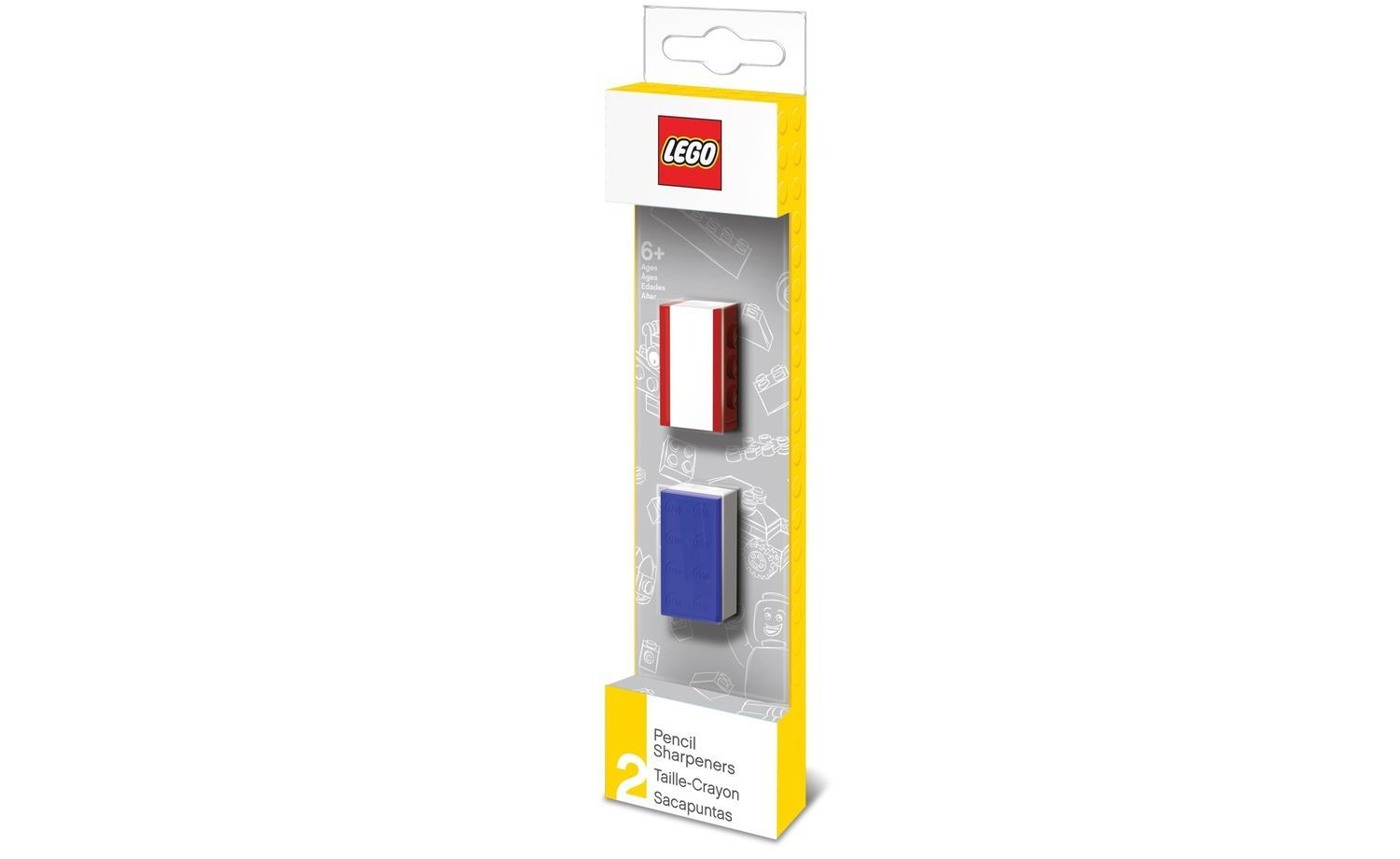 Lego Stationery - Pencil Sharpeners (2pcs)