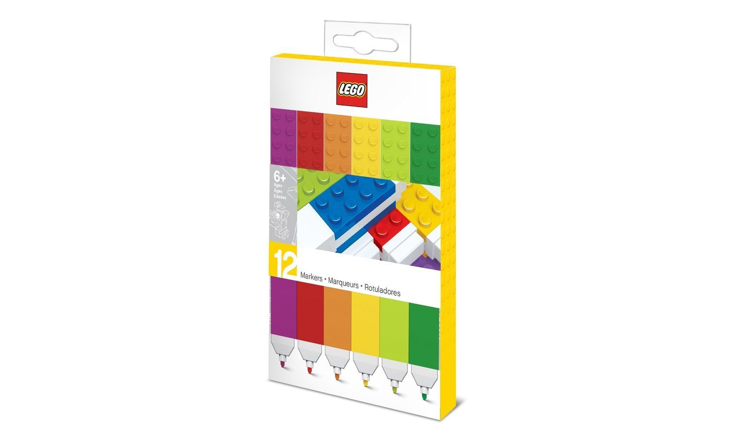 Lego Stationery - Markers (12 pack)