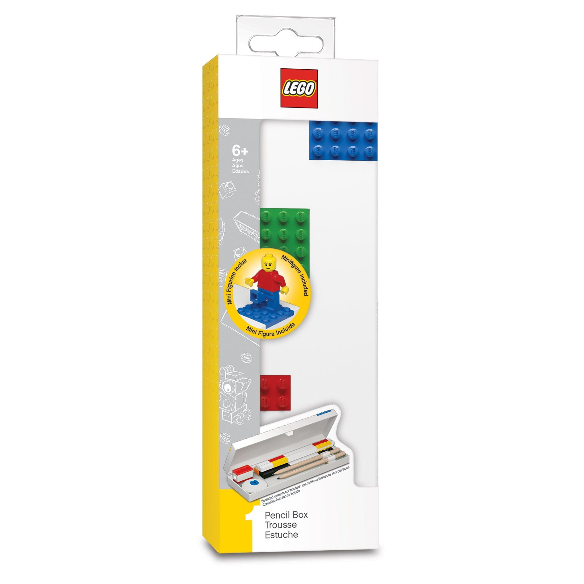 Lego Stationery - Pencil Box with Mini-figure