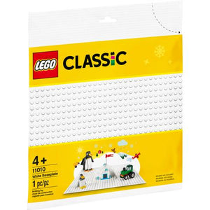 Lego Classic - White Baseplate Small