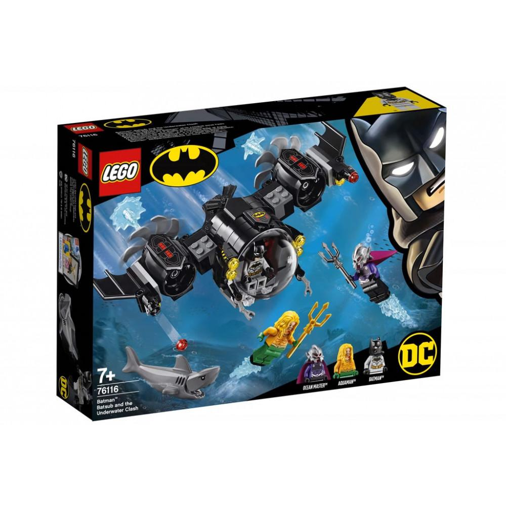 Lego DC and Marvel - Batsub and the Underwater Clash