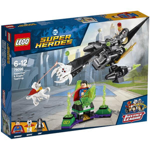 Lego DC and Marvel - Superman and Krypto Team Up